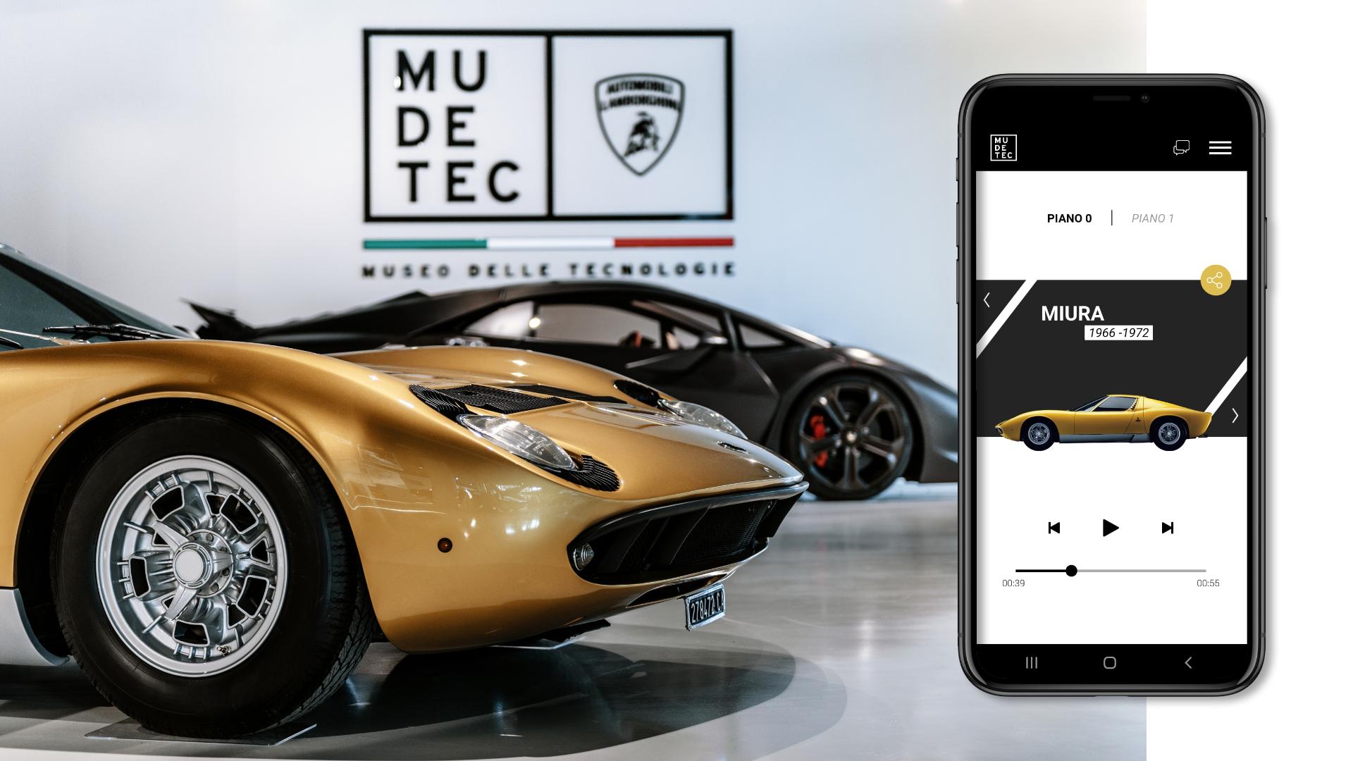 MUDETEC close up app