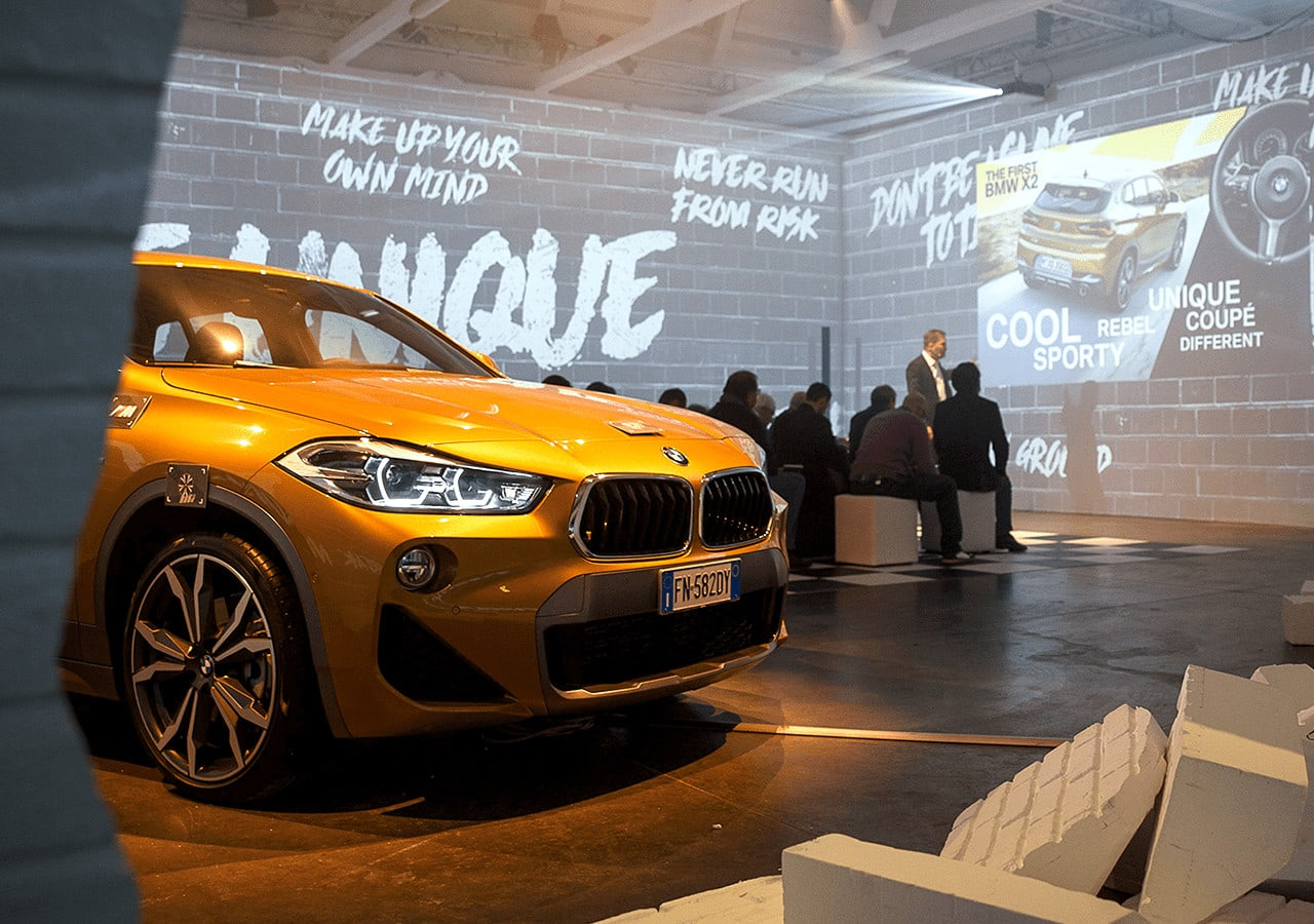 ETT - Progetti - BMW Press Event