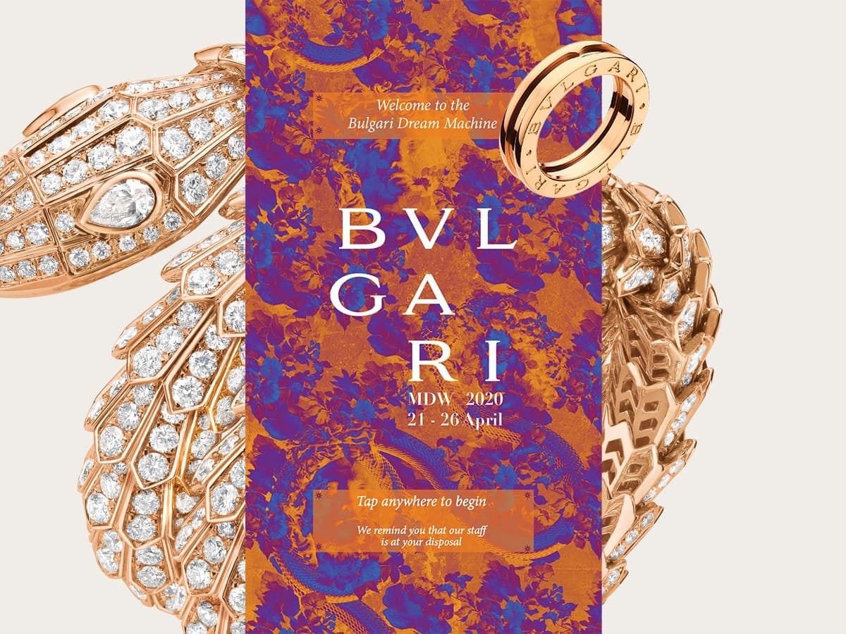 bulgari dream machine