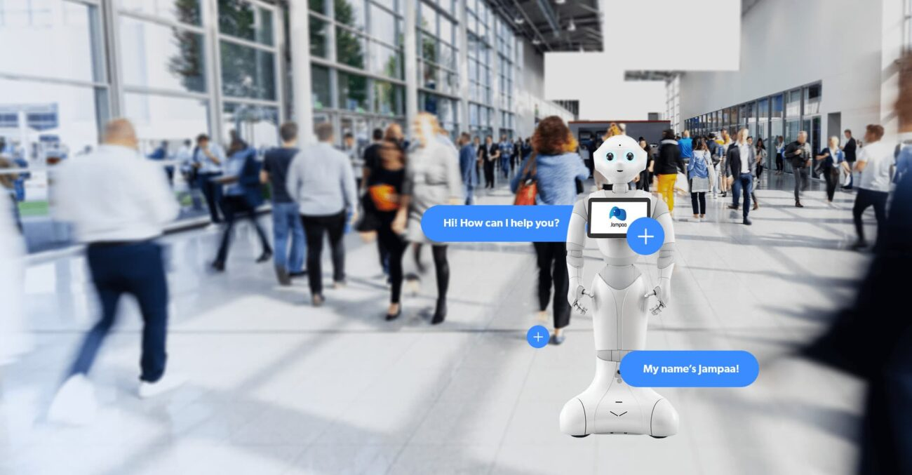 robot assistente