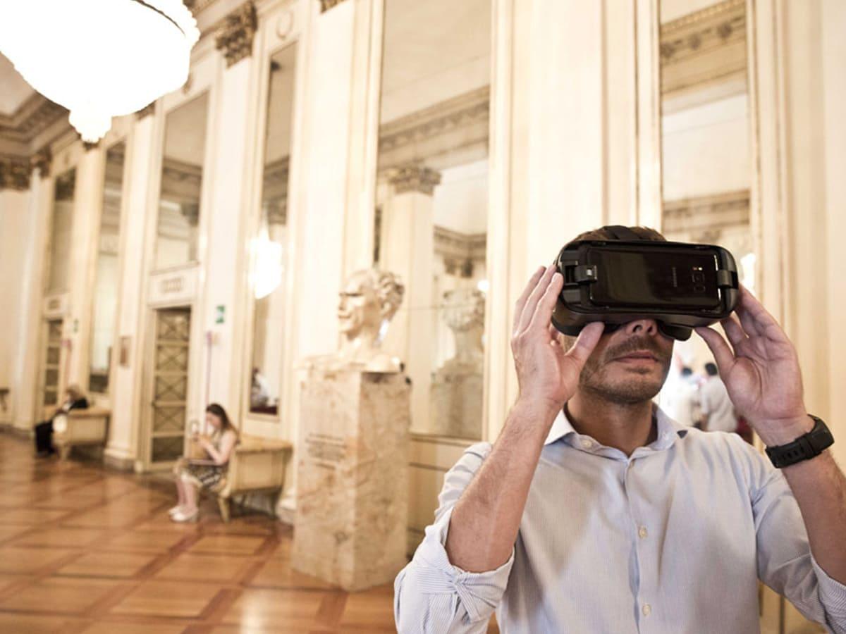 Museo Teatro alla scala visore realtà virtuale