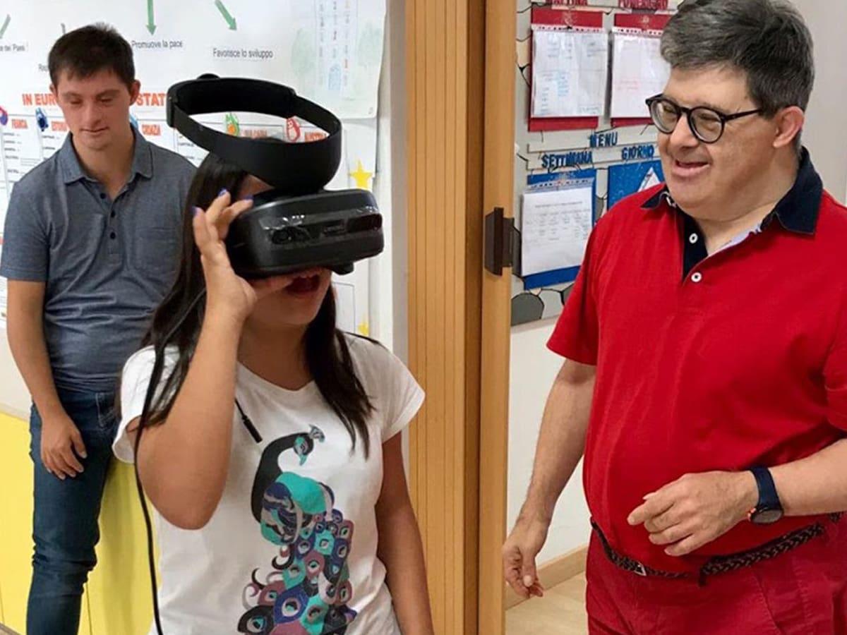 Progetto realtà virtuale per sindrome di down