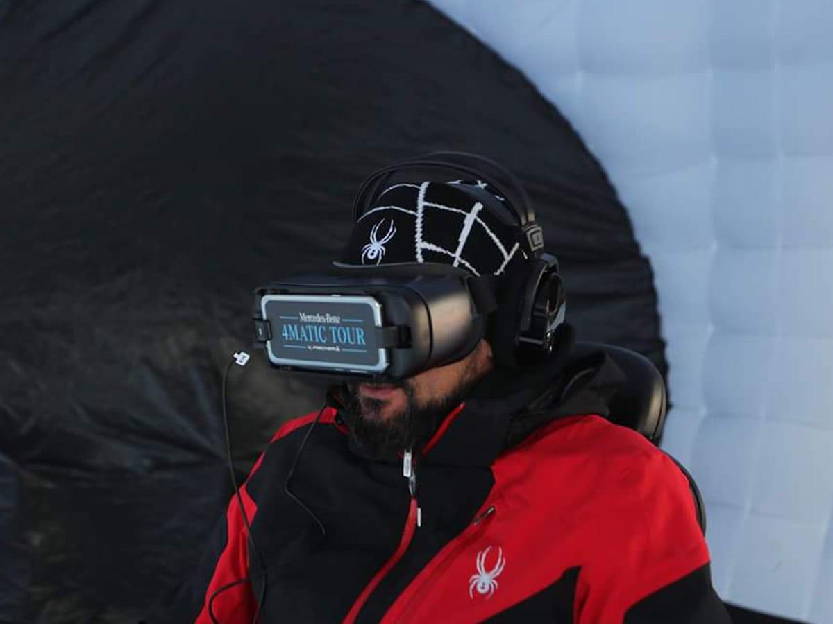 Realtà virtuale Mercedes-benz