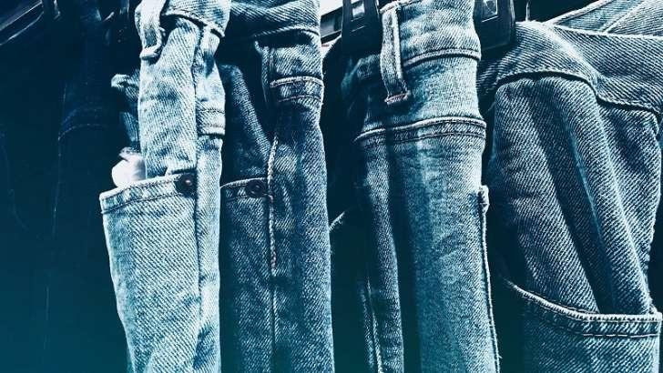blue jeans grafica