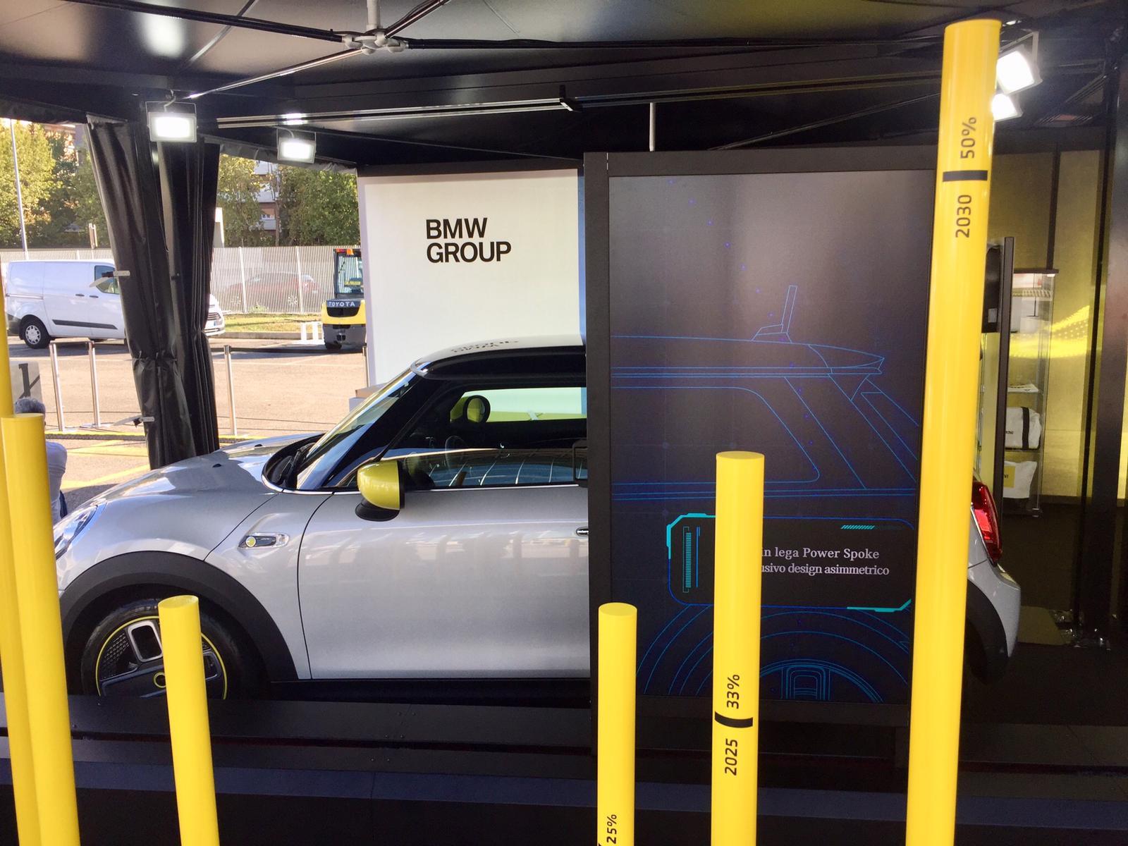 BMW interactive showroom