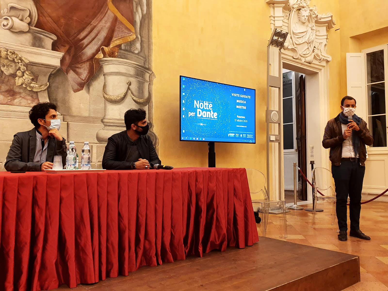Evento di presentazione di Dante VR progetto ETT laboratori Aperti Ravenna