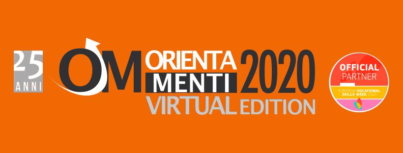 Locandina del Salone Orientamenti 2020 virtuale