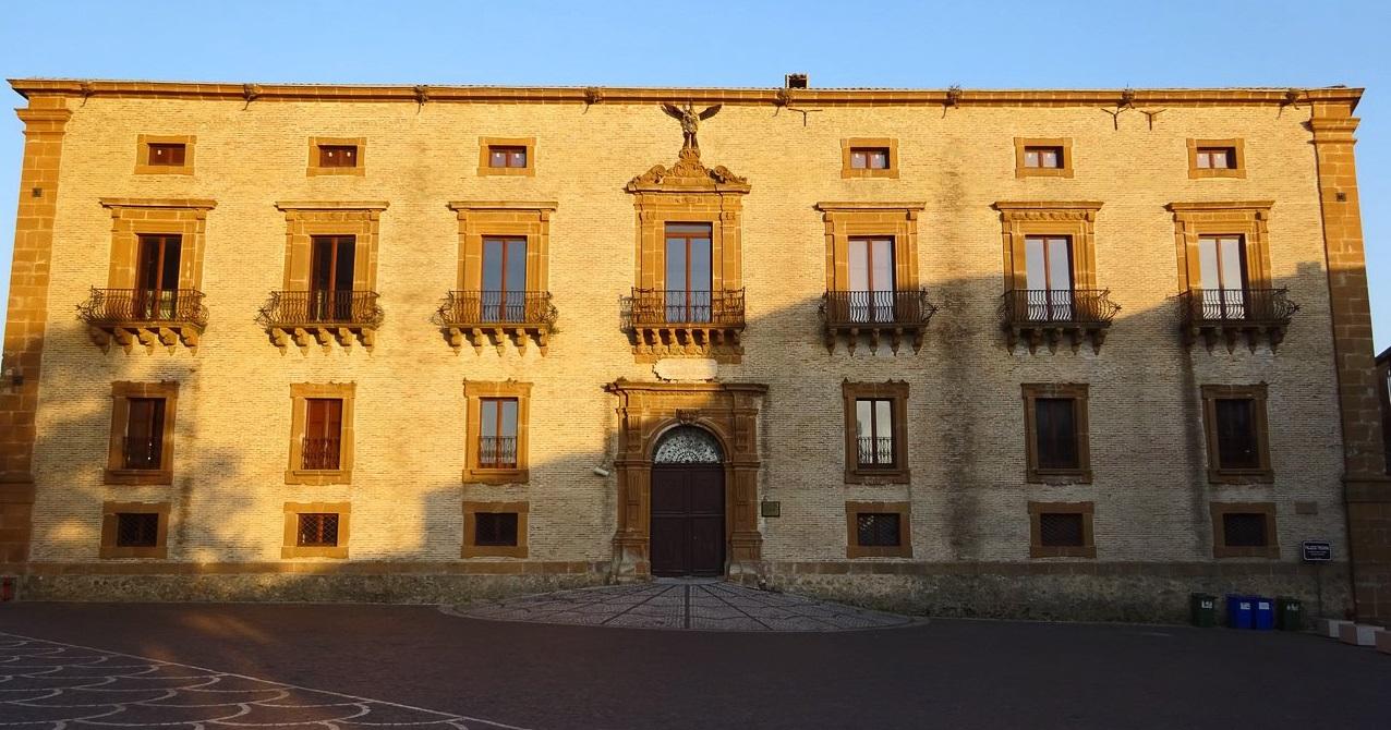 Facciata del Museo di Palazzo Trigona della Floresta